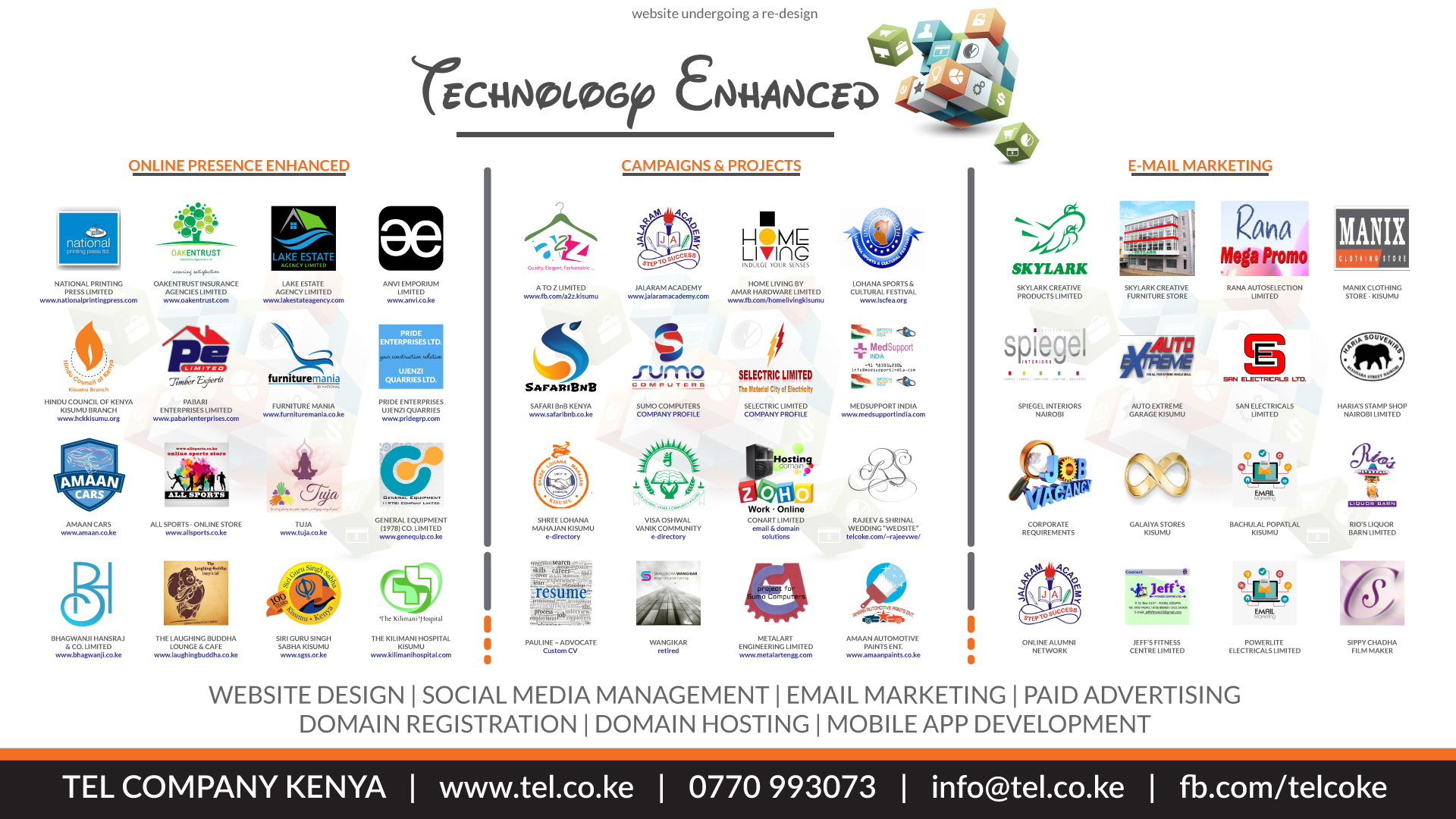 Portfolio of Technology Enhanced!