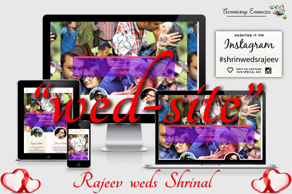 Wedding Website - Rajeev Weds Shrinal